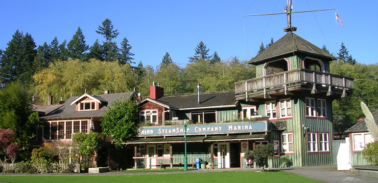 Photo of the Union Steamship Company Resort.